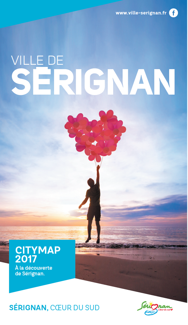 Sérignan City Map